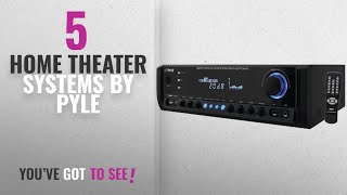 Top 5 Pyle Home Theater Systems [2018]: Pyle PT390AU Digital Home Theater Stereo Receiver, Aux