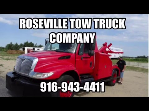 Roseville Tow Truck Company - Fast and Affordable Roseville