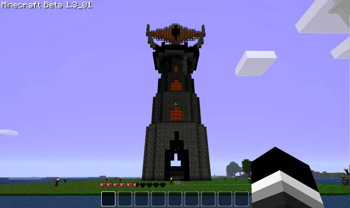 Minecraft Eye of Sauron YouTube