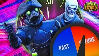 SKULL TROOPER STEALS PLAGUE'S TIME MACHINE -NEW SKIN- *SEASON 6* - FORTNITE SHORT FILMS