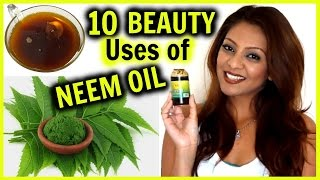 10 Beauty Uses of NEEM OIL! │ Acne, Hair Growth & Frizz, Dark Spots, Blackheads, & More!