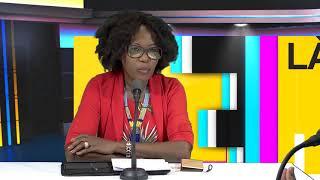 Ferdy Louisy Maire de Goyave est l'invité de Raphaëlle sur ETV (partie 1)