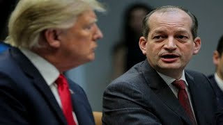 Labor Secretary Alex Acosta resigns amid mounting pressure over Epstein controversy