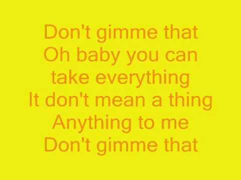 BossHoss - Don't gimme that (official) lyrics