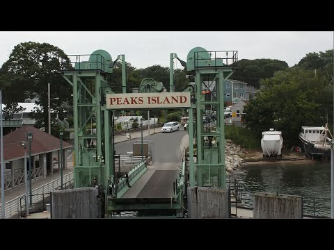 Timelapse of Ferry Ride to Peaks Island, Maine