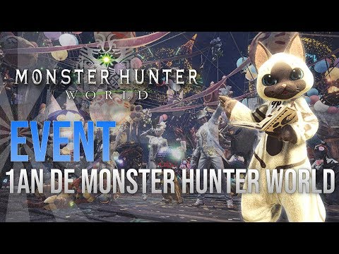 Monster Hunter World - 1 AN DE MONSTER HUNTER WORLD thumbnail