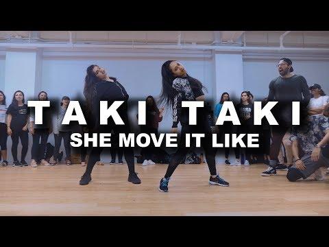 Taki Taki | She Move It Like | DJ Snake, Selena Gomez, Badshah | SAgrooves Choreography