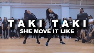 Gambar cover Taki Taki | She Move it Like | DJ Snake, Selena Gomez, Badshah | SAgrooves Choreography