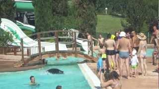 Camping Roca d'amour - Coup d'Anim à la piscine