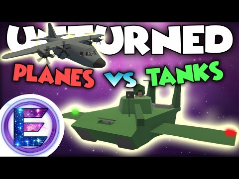 PLANES VS TANKS ! Who do you think going to win ? - Unturned