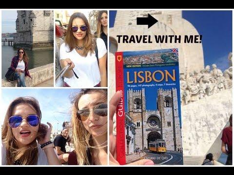 VLOG Travel with me: Lisbon, Portugal / PART 1