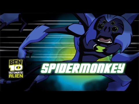 Ben 10 Galactic Challenge Spidermonkey Ben 10 Games