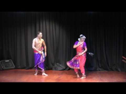 Bharatnatyam Recital  Sankari Mridha and Vinod Nair