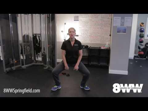 Springfield IL Fitness Center - Sumo Squat Exercise