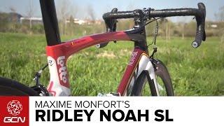 Maxime Monfort's Ridley Noah SL