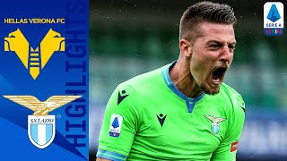 Hellas Verona 0-1 Lazio | Milinkovic-Savic's Last Gasp Goal Gives Lazio the Win! | Serie A TIM
