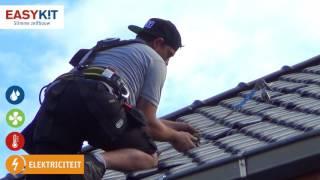 Zelf je pv zonnepanelen plaatsen op een hellend dak (deel 1)