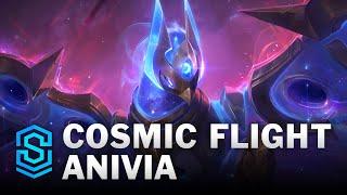 Cosmic Flight Anivia Skin Spotlight - League of Legends