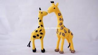 Amigurumi Receitas Português - Girafa Amigurumi de Crochê Parte 02 ...   180x320