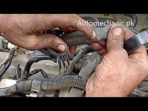 How To Fix A Spark Plug And Missing Problems In Car | Urdu Hindi Tutorial