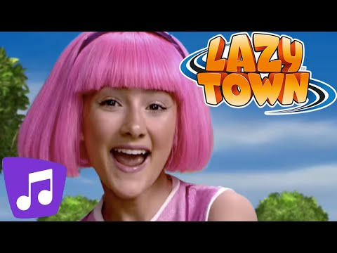 Lazy Town en Español | Bing Bang Video Musical