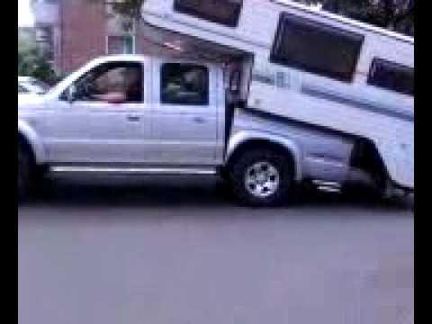 Pickup To Wohnwagen