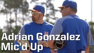 LISTEN IN: New York Mets 1B Adrian Gonzalez gets Mic'd Up in PSL!