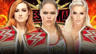5 Reasons Why Charlotte vs Becky Lynch vs Ronda Rousey is Perfect for WWE WrestleMania 35!