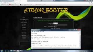 Atomic Booter Buy Now!!! Runs On Servers! No shells Required!
