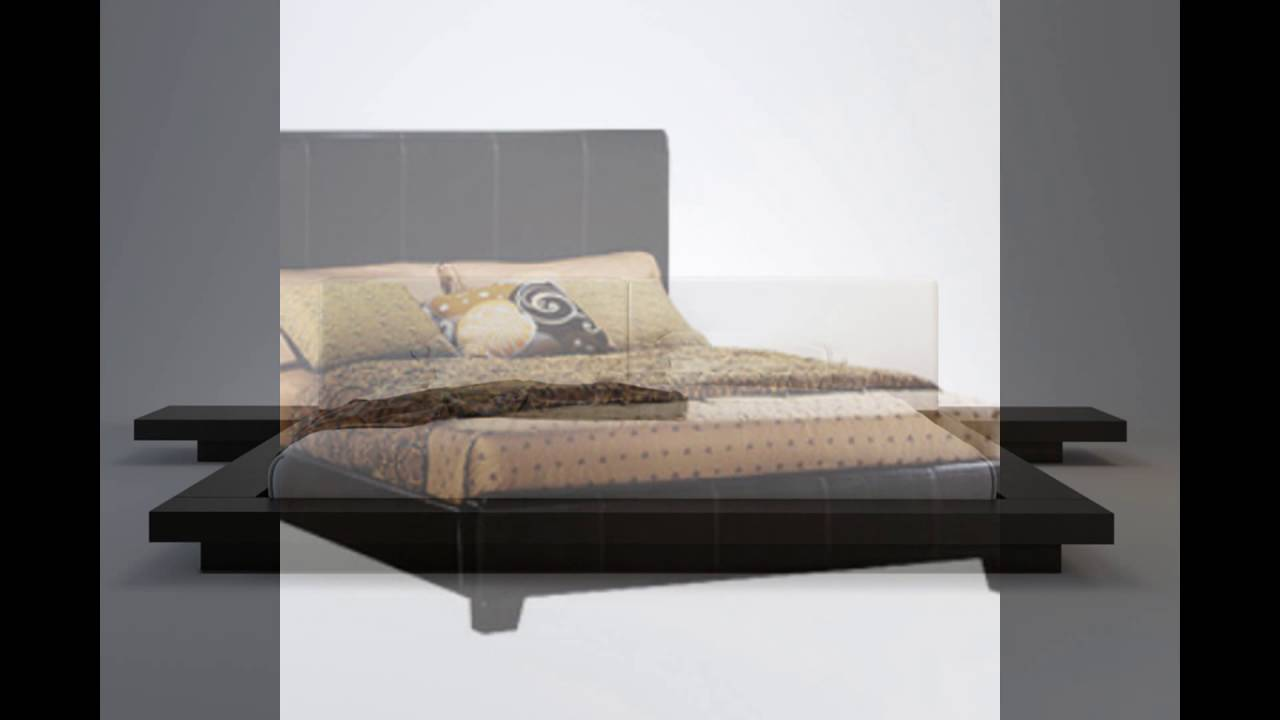 Low Bed Frames Queen YouTube