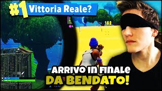 FORTNITE ITA :REAL VITTORY from BENDATO?! CECCHINATA PAZZESCA WITHOUT SEE