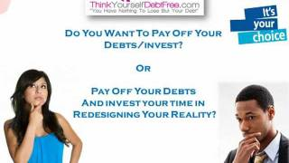 How to decide whether to invest or pay off  debt