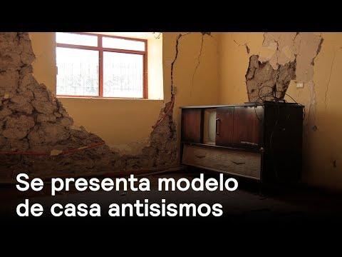 Se contruye  casa antisismo en Álvaro Obregón