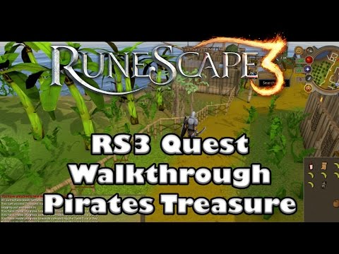 RS3 Quest Guide- Pirates Treasure - 2017(Up to Date)