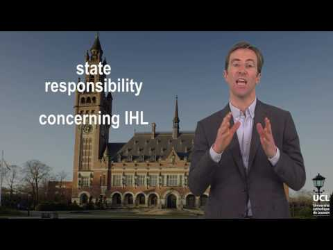 State responsibility vs individual criminal responsibility