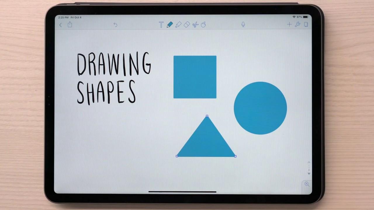Shapes Ios Notability