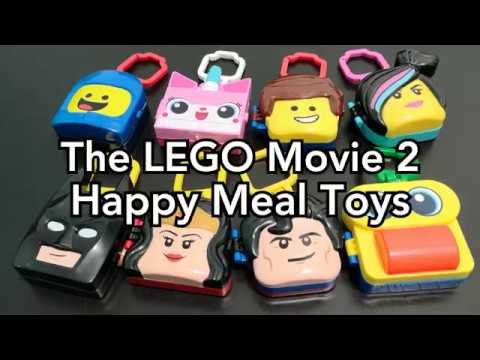 The LEGO Movie 2 McDonald's Happy Meal Toys