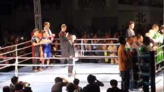 2012/10/28大崎市古川総合体育館で行われたWBC女子世界ミニフライ級タイ...