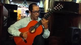 """Guitar solo đỉnh của đỉnh """" Chào em cô gái Lam Hồng """""""
