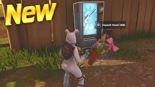 Finding All New VENDING MACHINE LOCATIONS in Fortnite