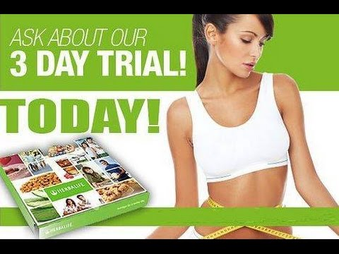 Herbalife's 3 Day Trial Pack ~ Start Losing Weight! - YouTube