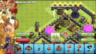 Clash of Clans- Diseño de aldea de ayuntamiento nivel 10 (farming)