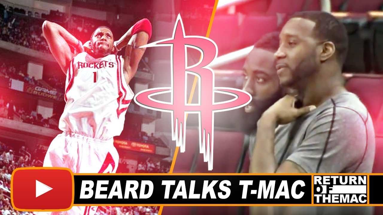 d0587aa030e James Harden Sharing His Thoughts About Former Rockets Great Tracy McGrady  (2015)