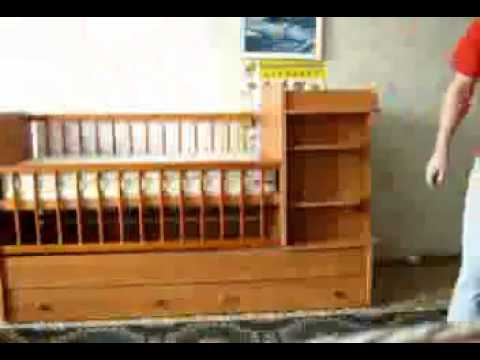 Схема сборки кроватки чунга чанга 959