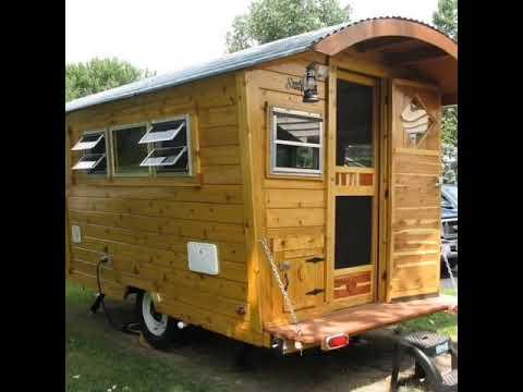 Building A Gypsy Wagon Final Tiny House Rv Vardo