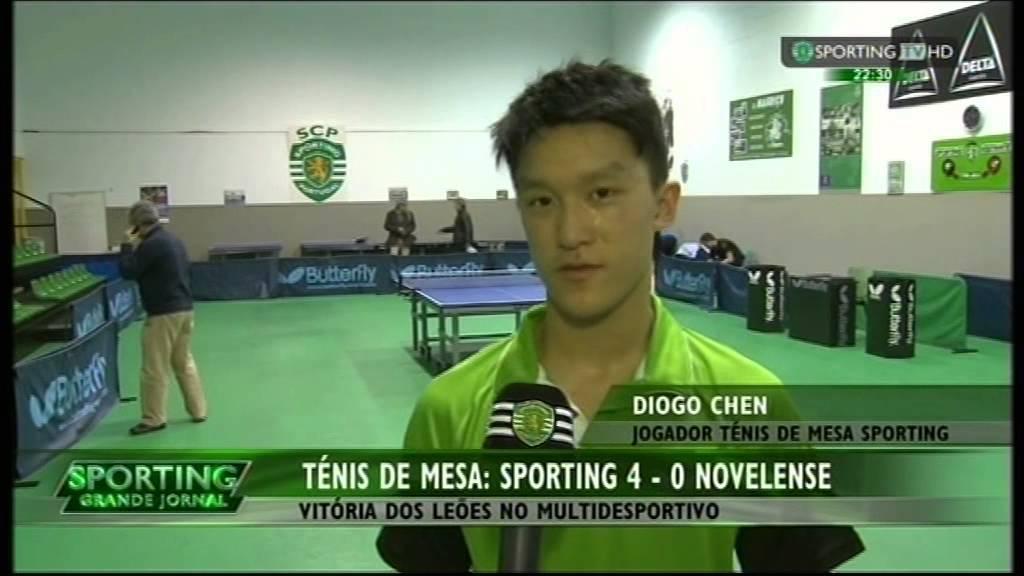 Ténis de Mesa :: 19J :: Sporting - 4 x Novelense - 0 de 2014/2015