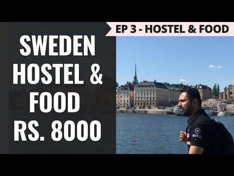 Episode 3 – Rs. 65,000 - Norway, Sweden & Denmark – Stockholm Hostel - Rs 6000, Supermarket and Food