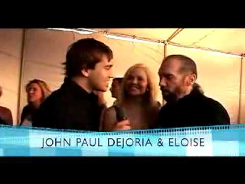 Red Carpet interviews at the Texas Film Hall of Fame Awards