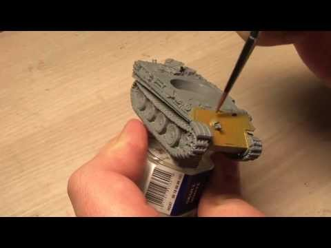 FoW: Painting A German Panther Tank (PART 1/3)