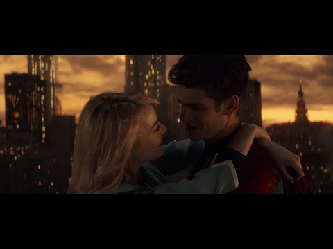 The Amazing SpiderMan 2 Soundtrack   Gone Gone Gone Peter Parker and Gwen Stacy Love Story